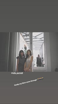 BLACKPINK Jennie Instagram Story 26 June 2018 ella purnell photo