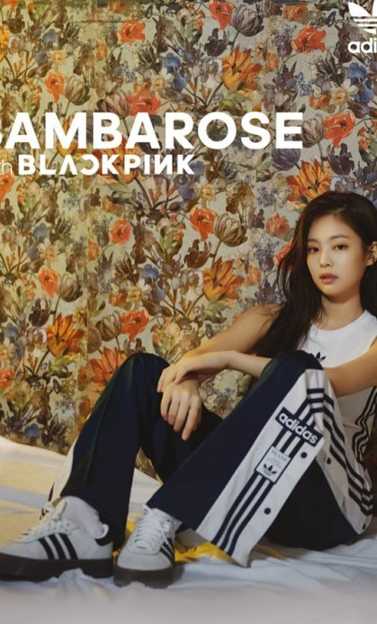 BLACKPINK Jennie Sambarose Adidas