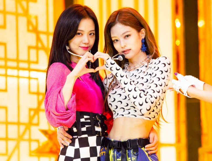 Blackpink Jisoo Jennie SBS Inkigayo 17 June 2018 comeback stage