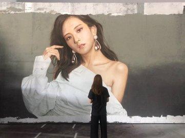 BLACKPINK Jisoo Mural Painting 8