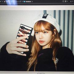BLACKPINK Lisa Nonagon x girl Photoshoot 2