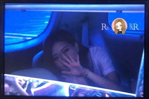 BLACKPINK-Rose-Car-Photos-Leaving-Inkigayo-17-June-2018-photo-2