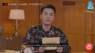 BIGBANG Seungri Title Track 1 2 3 supposed to be BLACKPINK Song rose recorded 8