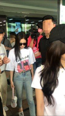 BLACKPINK Jennie Airport Photo 26 July 2018 Gimpo 19