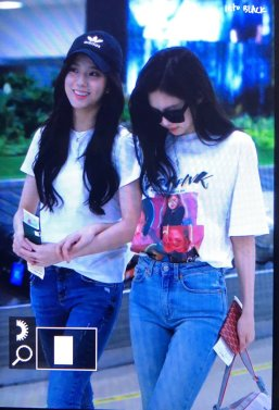 BLACKPINK Jennie Jisoo Airport Photo 26 July 2018 Gimpo 10