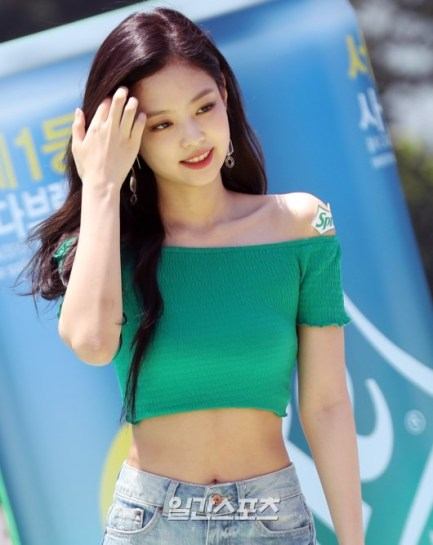 BLACKPINK Jennie Sprite Waterbomb Festival Seoul 44