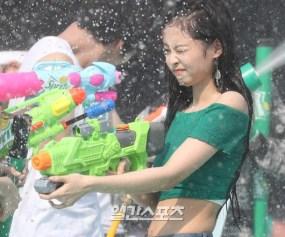 BLACKPINK Jennie Sprite Waterbomb Festival Seoul 61