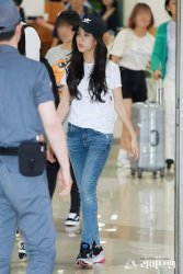 BLACKPINK Jisoo Airport Photo 26 July 2018 Gimpo 3