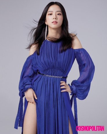 BLACKPINK Jisoo Cosmopolitan Korea magazine cover august 2018 issue 2