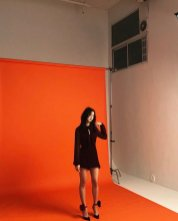 BLACKPINK Jisoo Instagram Photo 17 July 2018 Behind the scenes cosmopolitan photoshoot 5