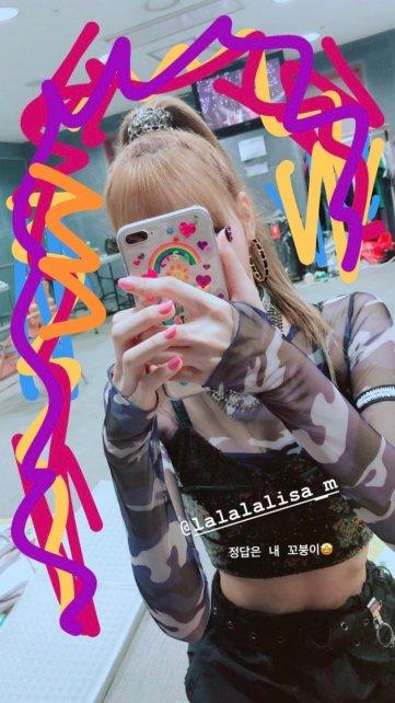 BLACKPINK Jisoo Instagram story Lisa July 8, 2018 sooyaaa