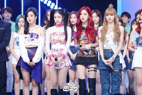 BLACKPINK Jisoo Jennie Rose Lisa MBC Music Core 7 July 2018 PD Note