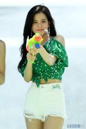 BLACKPINK Jisoo Sprite Waterbomb Festival Seoul 5