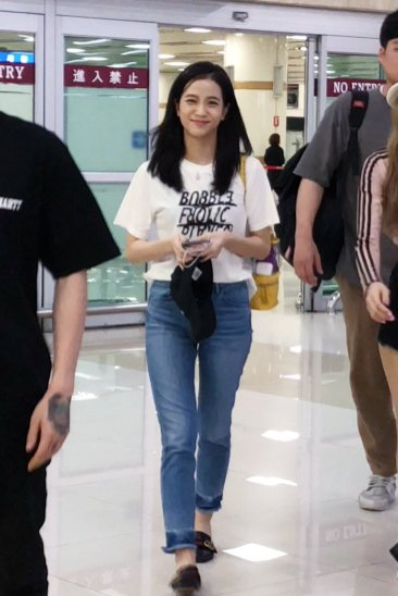 BLACKPINK Jisoo airport fashion 4 july 2018 photo 3