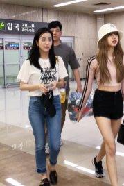 BLACKPINK Jisoo airport fashion 4 july 2018 photo 4