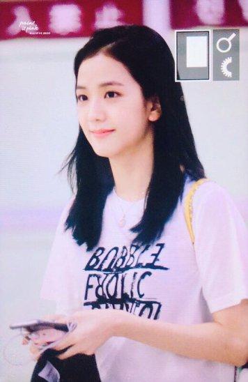 BLACKPINK Jisoo airport fashion 4 july 2018 photo 6