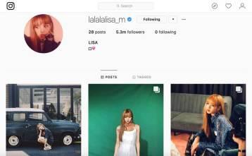 BLACKPINK-LISA-Instagram-followers