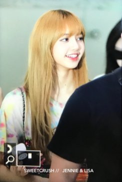 BLACKPINK Lisa Airport Photo 26 July 2018 Gimpo 16