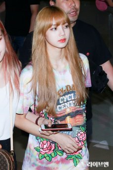 BLACKPINK Lisa Airport Photo 26 July 2018 Gimpo 3