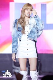BLACKPINK Lisa MBC Music Core white outfit 30 June 2018 photo 3