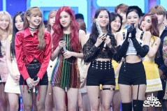 BLACKPINK MBC Music Core 14 July 2018 PD Note Photo
