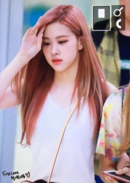 BLACKPINK Rose Airport Photo 26 July 2018 Gimpo 16