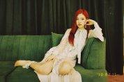 BLACKPINK Rose Instagram photo update 18 July 2018 Cosmopolitan pretty dress