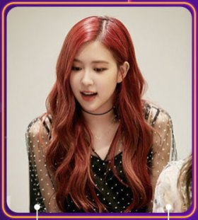 BLACKPINK Rose Photo Weibo Live