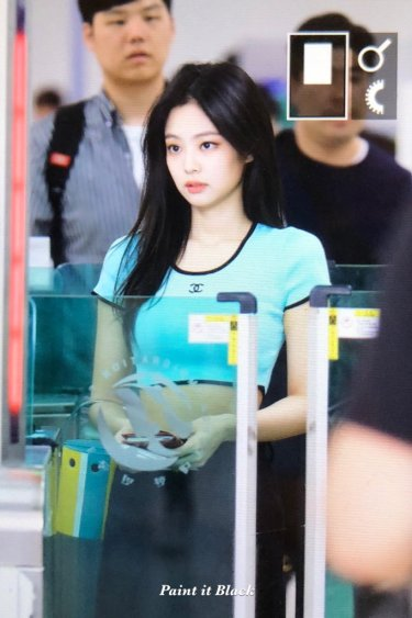 BLACKPINK UPDATE Jennie Airport Photo Fashion 22 July 2018 japan arena tour 49