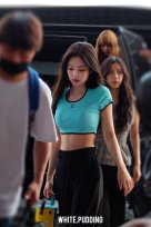BLACKPINK UPDATE Jennie Airport Photo Fashion 22 July 2018 japan arena tour