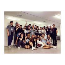 BLACKPINK UPDATE Jisoo Instagram Photo 26 July 2018 with crew