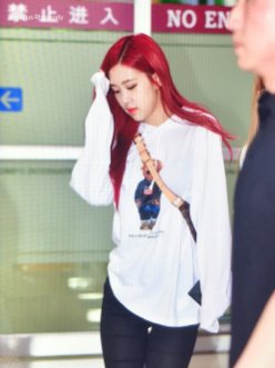BLACKPINK UPDATE Rose Airport Photo 20 July 2018 Back From Japan 2