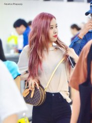 BLACKPINK UPDATE Rose Airport Photo Fashion 22 July 2018 japan arena tour 4