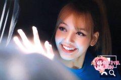 blackpink lisa car photos leaving sbs inkigayo july 8, 2018 fantaken 2