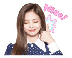BLACKPINK Jennie LINE Sticker 2018 Photo 5
