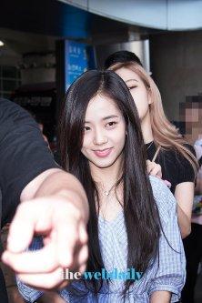 BLACKPINK Jisoo Airport Photo 18 August 2018 Incheon 11