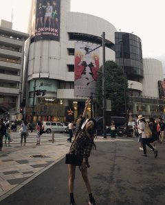 BLACKPINK Jisoo Instagram Photo 27 August 2018 Japan billboard ads 2