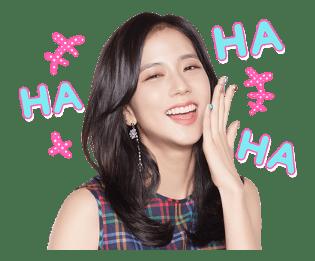 BLACKPINK Jisoo LINE Sticker 2018 Photo 2