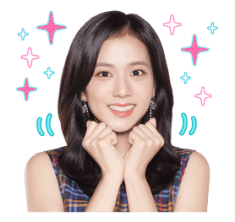 BLACKPINK Jisoo LINE Sticker 2018 Photo 5
