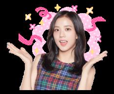 BLACKPINK Jisoo LINE Sticker 2018 Photo 6