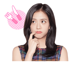 BLACKPINK Jisoo LINE Sticker 2018 Photo 9