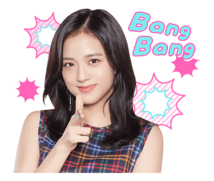BLACKPINK Jisoo LINE Sticker 2018 Photo