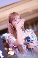 BLACKPINK LISA moonshot central world fansign event bangkok thailand 148
