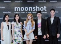 BLACKPINK LISA moonshot eveandboy fansign event thailand 2