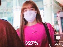 BLACKPINK Lisa Airport Photo 18 August 2018 Incheon 7
