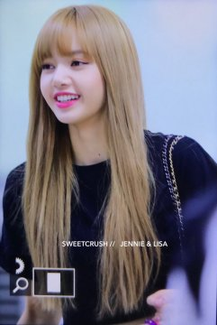 BLACKPINK Lisa Airport Photo 23 August 2018 Gimpo 12