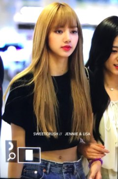 BLACKPINK Lisa Airport Photo 23 August 2018 Gimpo 13