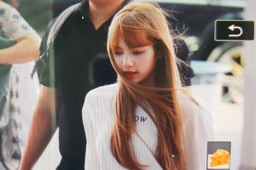BLACKPINK Lisa Airport Photo 8 August 2018 Incheon to Jakarta Indonesia 23