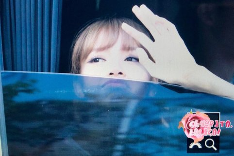 BLACKPINK Lisa Car Photos MBC Music Core 4 August 2018-4