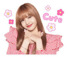 BLACKPINK Lisa LINE Sticker 2018 Photo 4